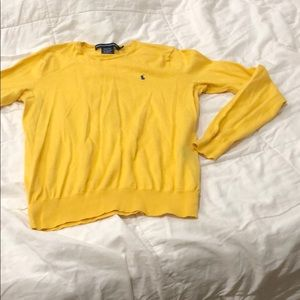 Ralph Lauren Sport. Yellow sweater. Large.